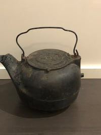 Antique Kettle cast Iron New Orleans, 70113