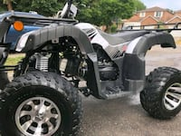 gray and white ATV Barrie
