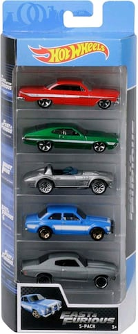 Hot wheels fast and furious 5 car set @ $20.00 Newmarket