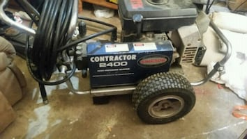Sherwin-Williams contractor 2400 psi power washer