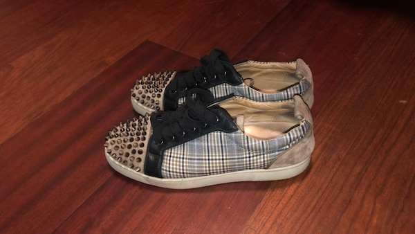 6d90cb32b7c0 Used Mens Christian Louboutin Spiked low-top for sale in Marietta ...