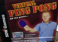 Virtual ping pong game LASVEGAS