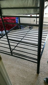 black metal bed frame with mattress Dale City, 22193