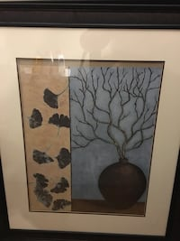 gray leafless tree painting Erin, N0B 1T0