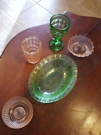 Depression glass no chips