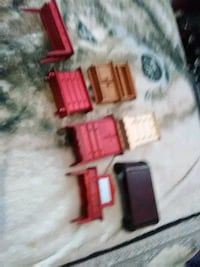 Wood doll stuff for doll house 6.00 obf  Hagerstown
