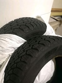 2 like new Goodyear Nordic winter tires Coquitlam, V3J 4R8