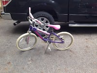 purple and white BMX bike Shawnee Hills, 43065