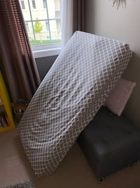 Crib mattress including mattress protection and all the sheets Newmarket, L3X 0B7