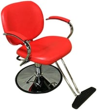 Classic Red Barber/Styling chair