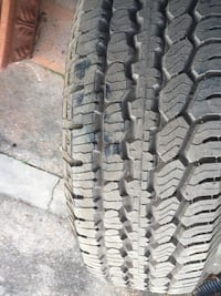 ONE (1) Brand New BFGOODRICH TIRE 265/70R15 No plug patches or dry rot
