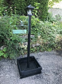 Solar light post with welcome sign  Kitchener, N2M 2L2