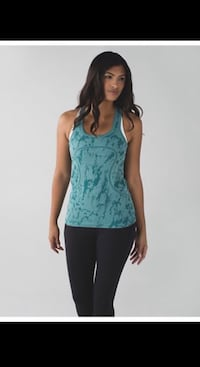 Lululemon swiftly tank ~ heathered teal ~ size 10 Surrey, V4N 6A2