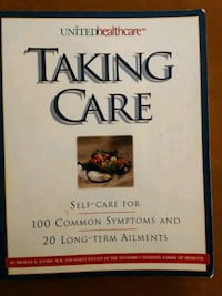 Health book taking care long-term ailments Hyattsville, 20784