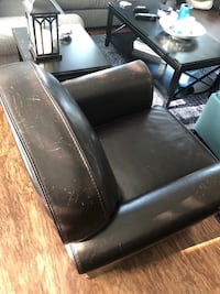 Brown Leather Chair Rockville, 20852