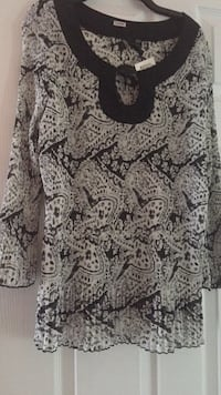 gray and black floral long-sleeved shirt Brampton, L6R