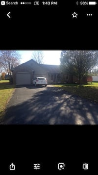 HOUSE For rent 3BR 2BA New Palestine