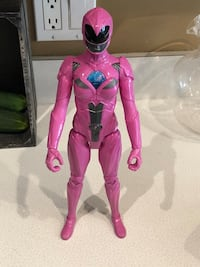 Mighty Morphin Power Rangers 12 inch PINK Ranger Action Figure Toy Plainfield, 60544