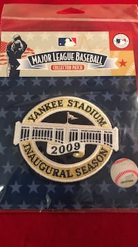New York Yankees 2009 inaugural patch
