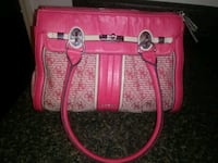 pink and white leather tote bag Travelers Rest, 29690