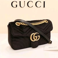 black and white Gucci leather handbag Mississauga, L5W 1P1