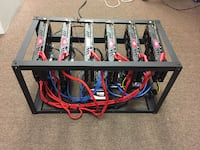 6 card rx480 8gb crypto mining rig Chino Hills