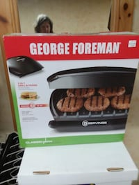 George Foreman grill...new in box Lenoir
