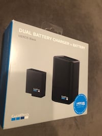 GoPro Dual Battery Charger + Battery (HERO6 Black/HERO5 Black) (GoPro Official Accessory) Chesterfield, 63005