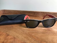 Official Ray Bans wayfarer with inner red and white graphics  Frederick, 21704