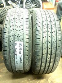two NEW 185/65R14 all season IRONMAN tires /_/_/_/_/_//_/_/_/   Port Coquitlam