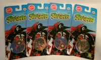 Classics pogs. Each pack contains a slammer