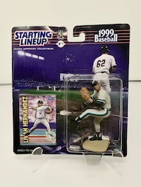 Vintage Florida/Miami Marlins Starting Lineup Action Figures (Choice of 1) [Brand New] Washington, 20016