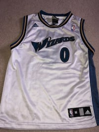 Washington DC WIZARDS NABA JERSEY  Ashburn, 20147