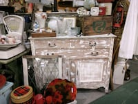 Sanded paint sideboard. R287