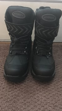 Men's OR Boy's Black Winter Boots