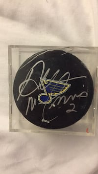 Al mcinnis signed hockey puck Germantown, 20874