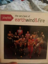 The very best of earth wind &fire CD Edgemere, 21219