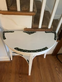 Accent table painted Baltimore, 21212