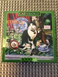"Cat-ology 1000pc puzzle  ""Un-opened"" Calgary, T3H 5T6"