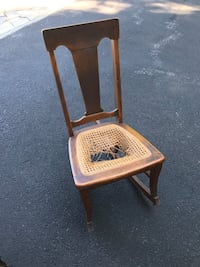 Antique rocker in need of new caning. Mount Airy, 21771