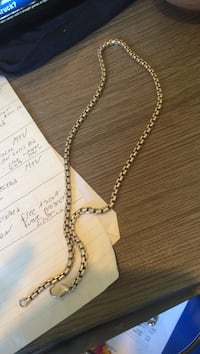 Silver-colored necklace with lobster lock Goleta, 93117