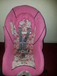 baby's pink and white floral car seat carrier Huntington Park