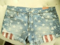 Size 18 Mossimo jean shorts. Brand new Bakersfield, 93308
