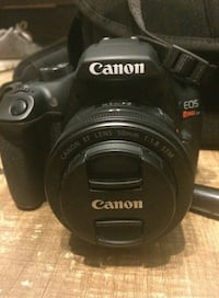black Canon EOS DSLR camera Oakdale, 95361
