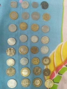 Set of all old to new indian,baharin and nepalcoin