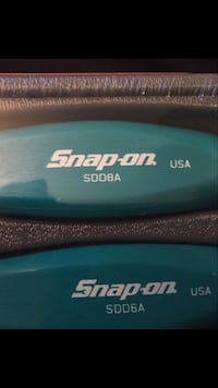 Snap-On Teal Blue Hard Handle Screwdriver Set 115 mi