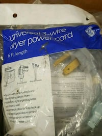 Brand new GE universal dryee 6 ft length 3 wire co Modesto, 95356