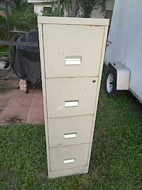 white metal 4-drawer filing cabinet Lake Wales, 33853