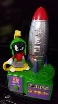 Pez Marvin the Martian candy hander Toronto, M4X 1G7