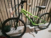 green and black hardtail mountain bike Hamilton, L8G 1A3